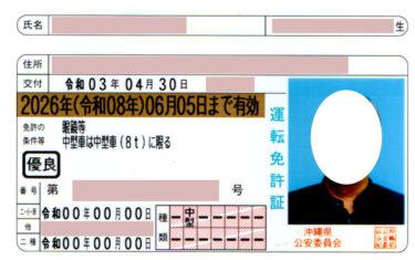 免許証の更新