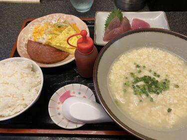 久しぶりの「ゆし豆腐定食」